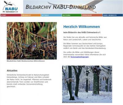 Foto zur Meldung: NABU Dahmeland startet Internet-Bildarchiv