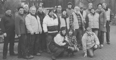Foto zur Meldung: Flursäuberung in Kaltensondheim – Freiwillige finden viel Müll