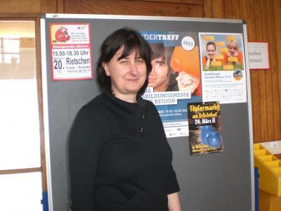Foto zur Meldung: Neue Berufsberaterin in der FSR