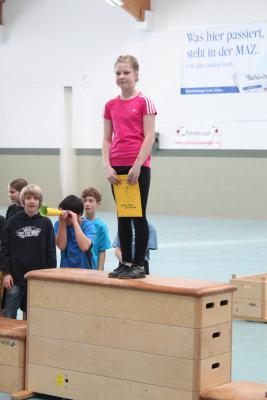 Foto zur Meldung: Erfolgreiche Teilnahme am Purzelbaum-Cup