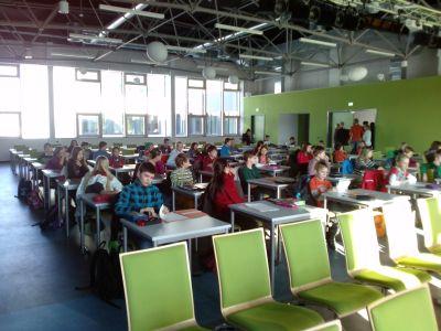 Foto zur Meldung: Anna Weinert  2.Platz bei Mathematikolympiade in Cottbus