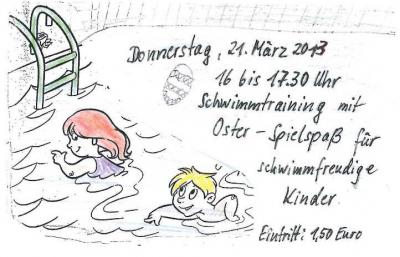 Hallo schwimmfreudige Kinder