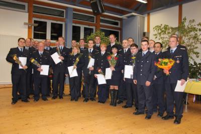 Vorschaubild : Jahreshauptversammlung der Freiwilligen Feuerwehr 2013