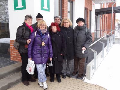 Foto zur Meldung: Verschneiter Liederweg