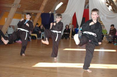 Foto zur Meldung: Karateprüfung