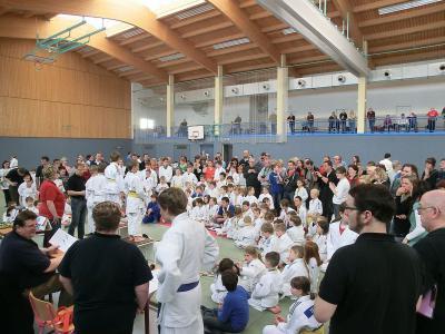 Foto zur Meldung: 16. Kinder- und Jugendsportspiele Judo