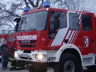 Foto zu Meldung: Neues Löschgruppenfahrzeug für Zinndorfer Feuerwehr