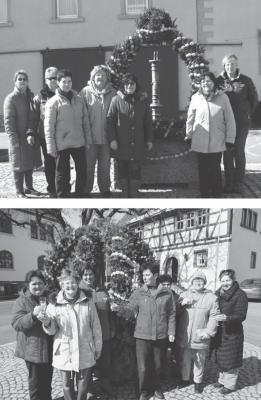 Foto zur Meldung: Osterbrunnen in Kaltensondheim und Westheim