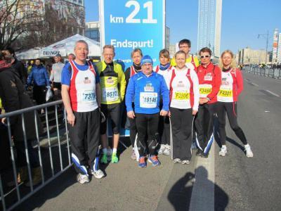 Foto zur Meldung: 33.Berliner Halbmarathon – das Maß aller Dinge