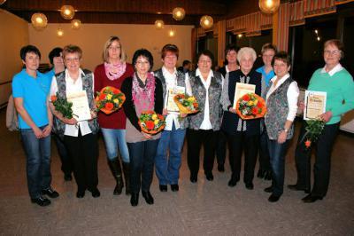 Foto zur Meldung: Erika Eifert seit 60 Jahren mit Landfrauen eng verbunden