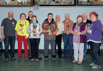 Foto zur Meldung: Wanderfreunde Wenings wieder stärkste Gruppe in Gelnhaar