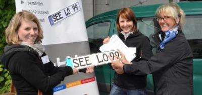 Foto zur Meldung: Kennzeichen SEE wieder eingeführt
