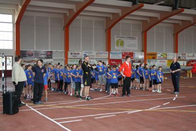 Foto zur Meldung: Rekordteilnahme bei 3. Talentiade im Landkreis OSL