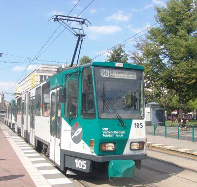 Foto zur Meldung: Unfall zweier Straßenbahnen der ViP