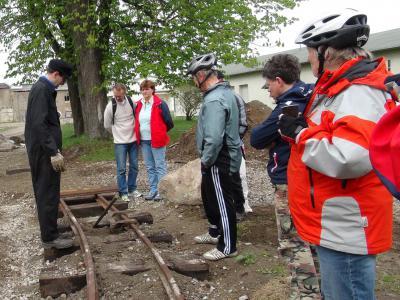 Foto zu Meldung: Radler auf der Ziegeleibahn