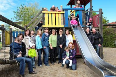 Foto zur Meldung: Kinder brauchen Freunde - Neu gegründeter Förderverein unterstützt Kita Schwalbennest in der Parkstadt