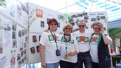 Foto zur Meldung: BGR auf dem Rehfelder Volksfest