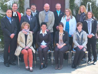 Foto zur Meldung: Silberne Konfirmation 2013