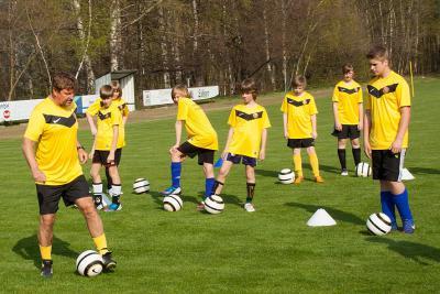 Foto zu Meldung: 3. Tag Dynamo Fußballschule in Großthiemig