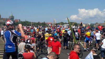 Vorschaubild zur Meldung: Fahrrad-Sternfahrt nach Stettin