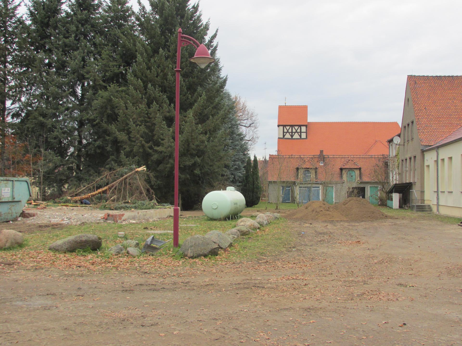 Bornsdorf am Gemeindehaus
