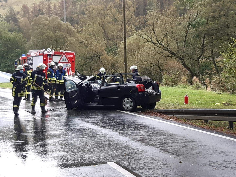 Verkehrsunfall Lange Ricke