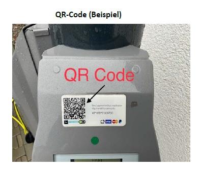 Laden via QR-Code