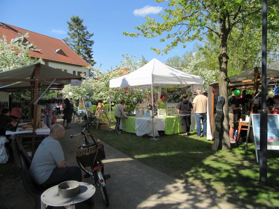 Frühlingsfest 2018 im Amtspark Brück