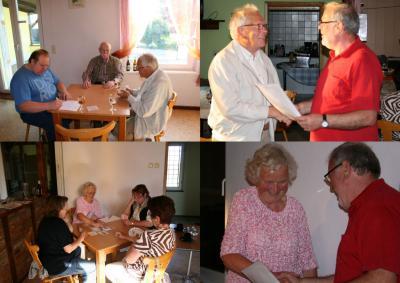 Foto zur Meldung: Rommé und Skat Abend