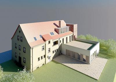 Foto zur Meldung: Baustart in Storkow