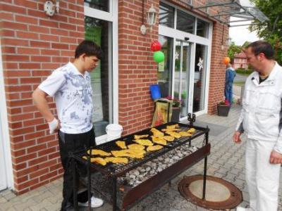 Foto zu Meldung: Grillfest