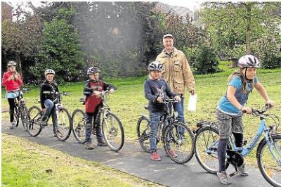 Foto zur Meldung: Auf zwei Rädern durch den Parcours