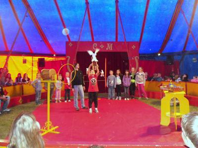 Foto zur Meldung: Gelungenes Zirkusprojekt