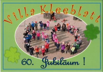 """Foto zur Meldung: Großes Straßenfest zum 60-jährigen Jubiläum der Kita """"Villa Kleeblatt"""""""