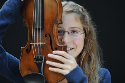 Foto zu Meldung: Musikalische Begabtenförderung hautnah