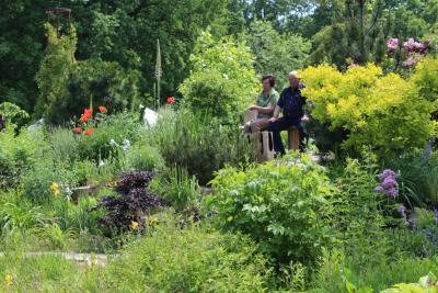 Foto zur Meldung: Offenen Gartenpforten am Sonntag, 9. Juni