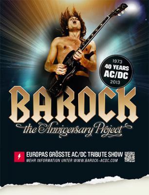 Foto zur Meldung: BAROCK performed AC/DC - Insel Frauenhain 29. Juni