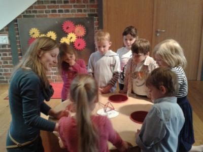 Kindergarten Abenteuerland zu Besuch im Mathematikum Gießen