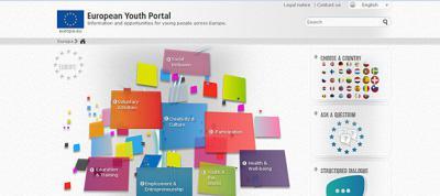 Foto zur Meldung: Europäisches Jugendportal: neues Design, neue Themen