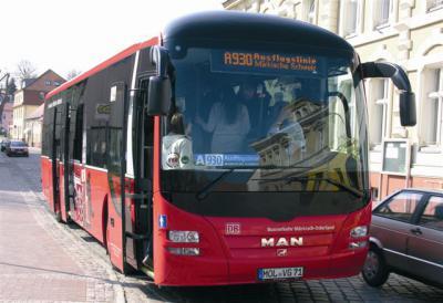 Foto zur Meldung: Gemeinsam: Landkreis und Ämter sichern Ausflugsbus A930