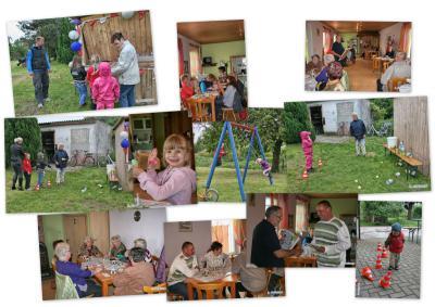 Foto zur Meldung: Kinderfest trotzt schlechtem Wetter!
