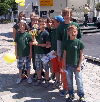 Foto zur Meldung: Stadtmeisterschaft der Verkehrswacht 2013