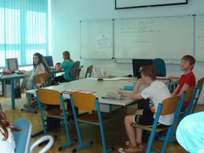 Foto zu Meldung: Klasse 6a schreibt für die Schulhomepage