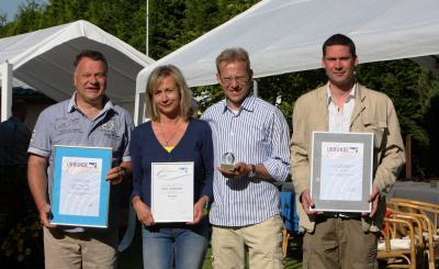 Foto zur Meldung: Laager Laufgruppe feierte ihr Sommerfest