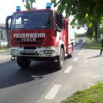 Foto zu Meldung: Löschen von Gasbränden geübt