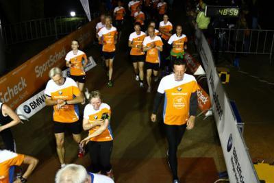 Foto zur Meldung: SC Laage beim Hamburger Nachtlauf vertreten