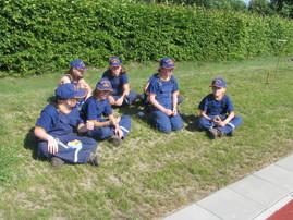 Foto zu Meldung: Jugendfeuerwehr Zinndorf bei der Bereichsmeisterschaft