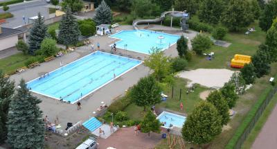 Foto zur Meldung: Startschuss zum 2. Tröbitzer 24 h Schwimmen
