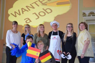 Foto zur Meldung: Auzubildende belegen 3. Platz im B-Finale der Europäischen Jugendolympiade
