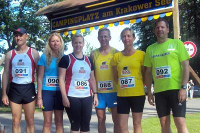 Foto zur Meldung: 6. Mittsommernachtslauf in Krakow am See